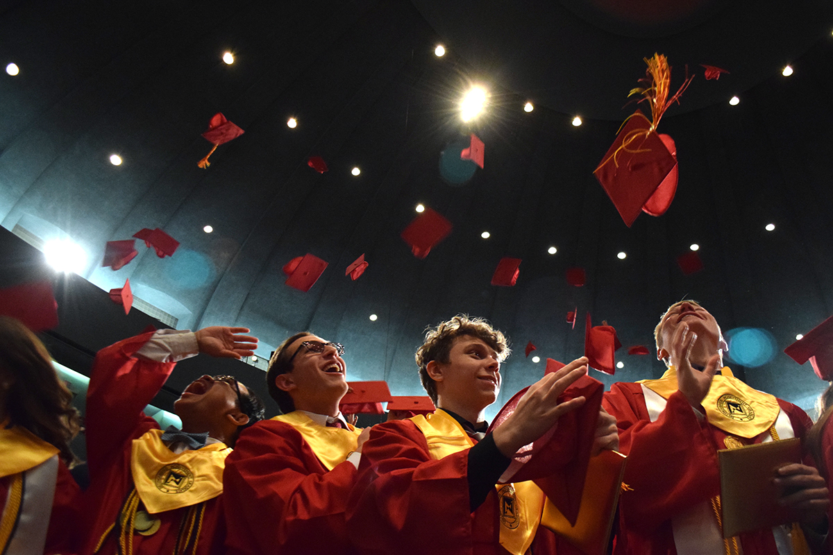 Caps off to the class of 2017