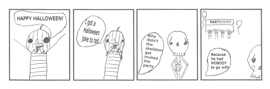 Why Didn't the Skeleton get Invited to the Party?