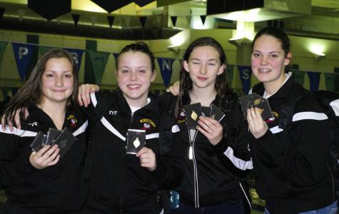 Girls swim JV conference