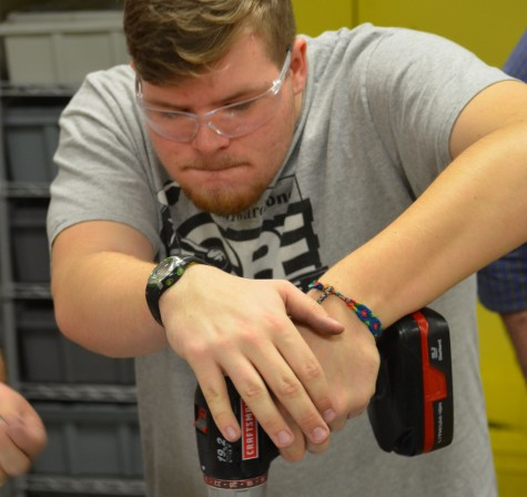 Robotics rushes to finish