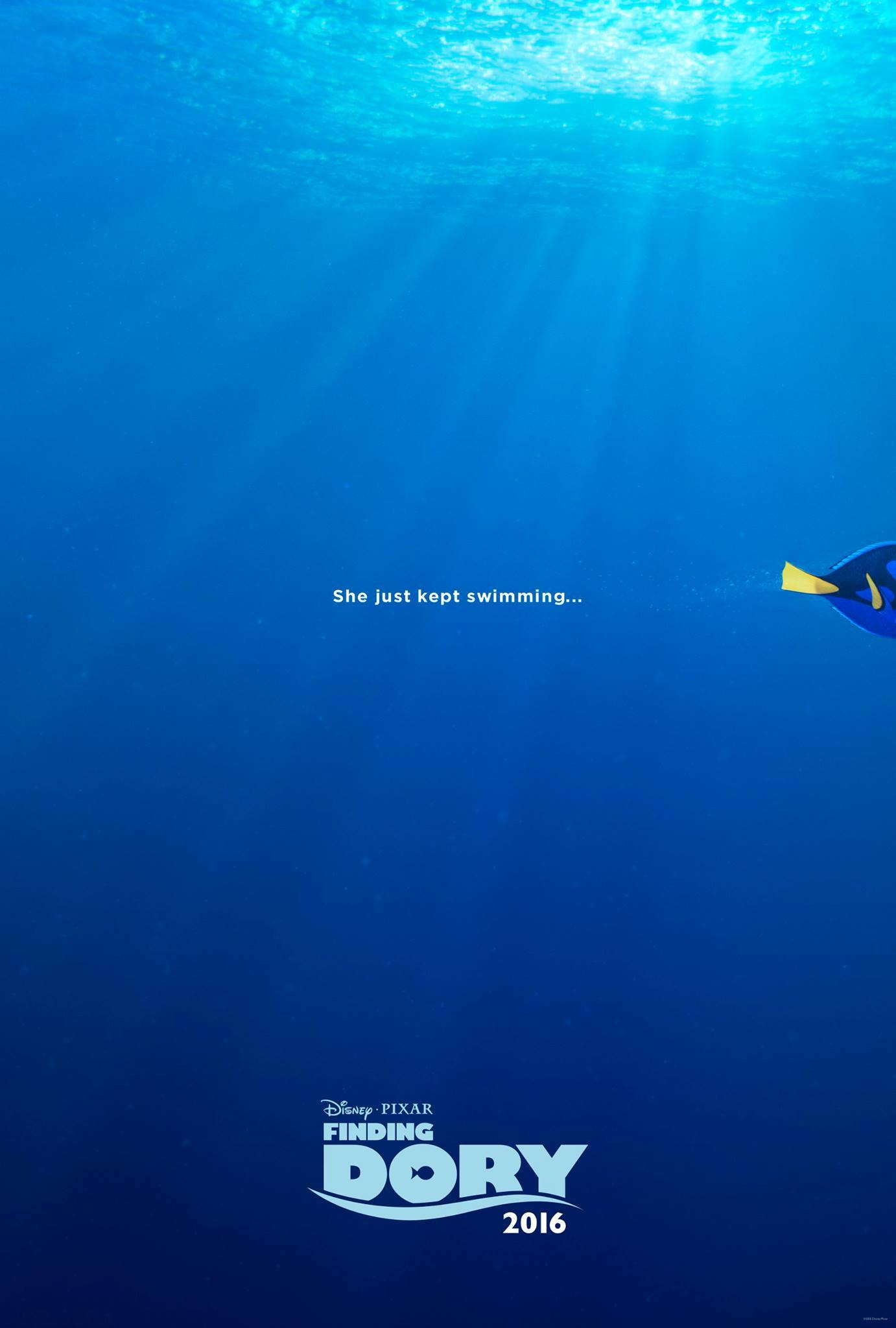 Official movie poster of Finding Dory