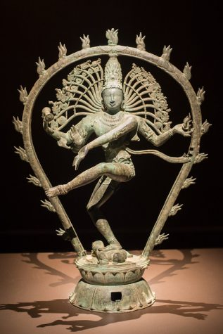 "A sculpture of The Hindu god Shiva as Nataraja, the Lord of Dance created during the 11th century in India. This sculpture will be one of the many pieces discussed in the AP Art HIstory class. Photo: ""The Hindu God Shiva as Nataraja, the Lord of Dance"" is copyright © 2013 mark6mauno and made available from flickr.com under Attribution-ShareAlike 2.0 Generic license."