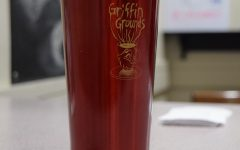 The new Griffin Grounds mugs created by the Art Club are now available.