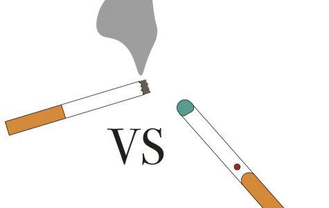 Vaping and E-Cigarettes vs. smoking