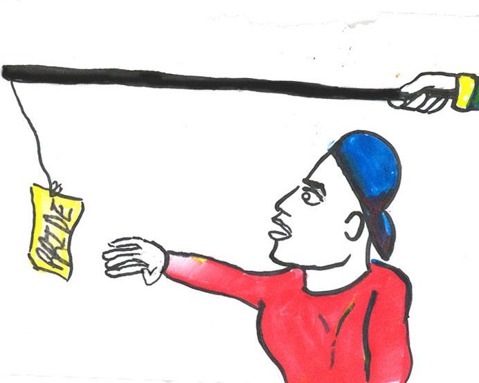 editorial cartoon by Alyssa Magrone