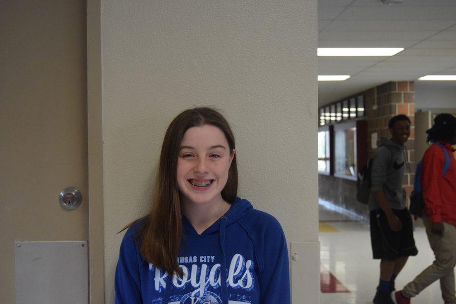 Erica+Burnett%3B+sophomore+class+president