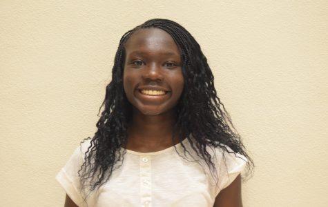 Lily Abdulla; senior class president