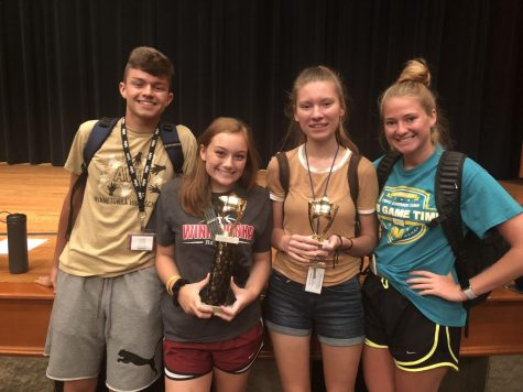 Student journalists win awards at Balfour Yearbook Camp
