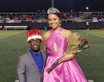 Seniors JaShawn Walker and Rosie Rodriguez appointed as Homecoming King and Queen
