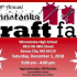 18th annual craft fair and portrait fundraiser on Saturday Dec. 1