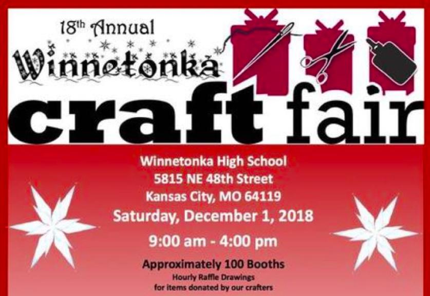 18th annual craft fair and portrait fundraiser on Saturday Dec. 1