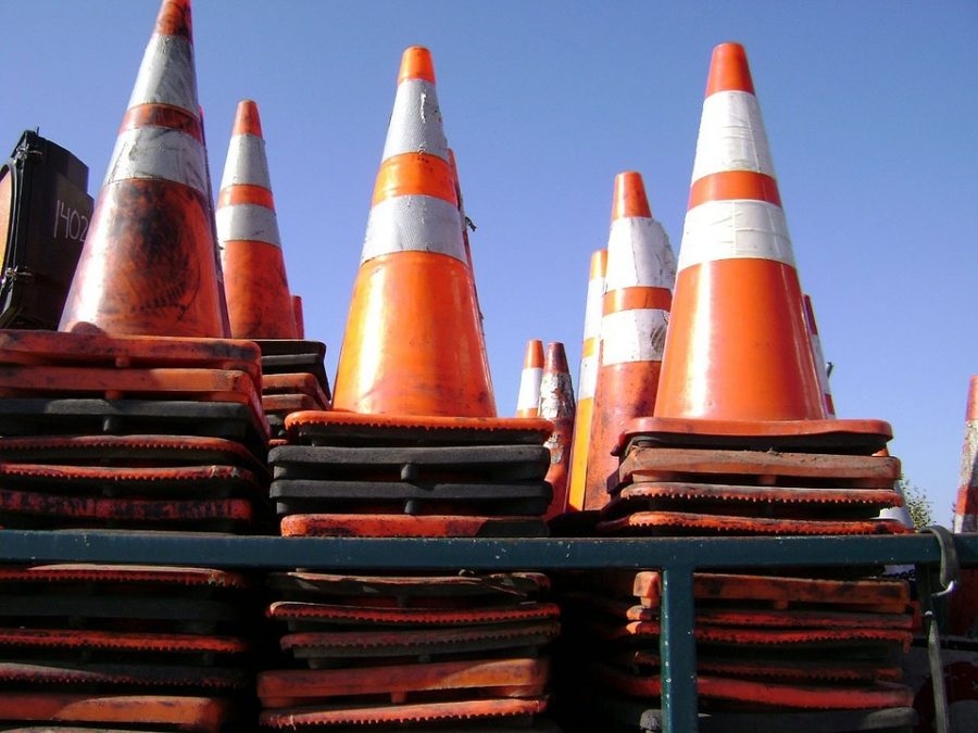 Traffic Safety Cones Road Construction Warning