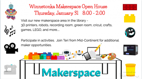 New Makerspace Open House on Thursday, Jan. 31 from 8 a.m. to 2 p.m.