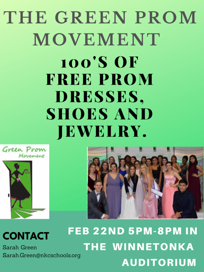Green Prom Movement rescheduled to Feb. 22 from 5 to 8 p.m.
