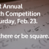 First annual math competition to be hosted on Feb. 23