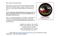 First ever class of Griffins invited to Winnetonka's 50th anniversary Homecoming game