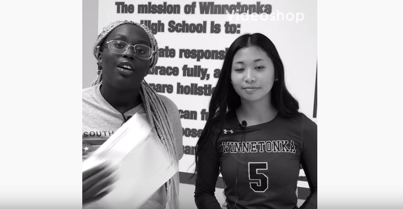 Interview of Erika DeGuzman Interviewer Akon Tong and camera Destiny Anderson