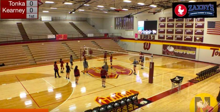 Tonka volleyball vs Kearney