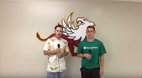 N2 Sports Interview: Lauchlan Ferris with senior football player Hayden Shay