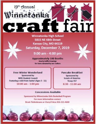 19th Annual Craft Fair; Dec. 7