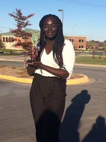 Debate student Destiny Martin wins 2nd place in Poetry Reading