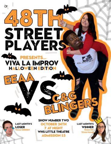 Viva La Improv; Halloween Edition