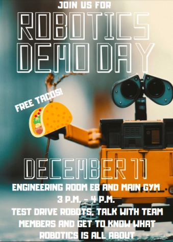 Join Robotics on Dec. 11 for Demo day