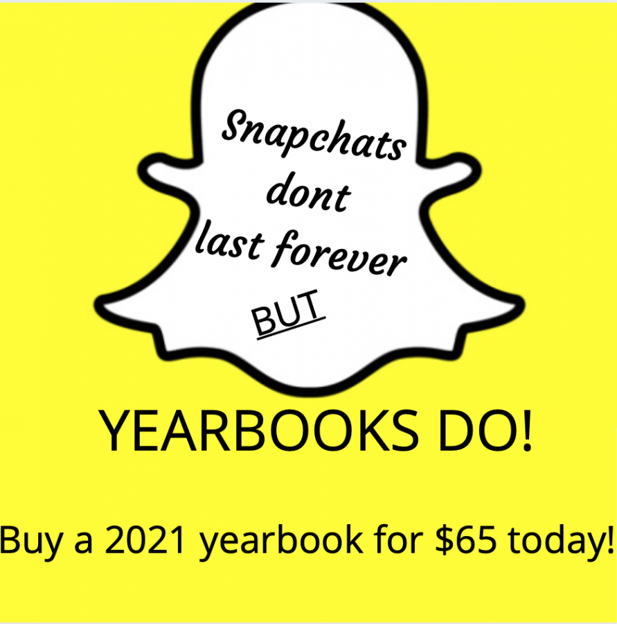 Buy Your 2021 Yearbook!!!!